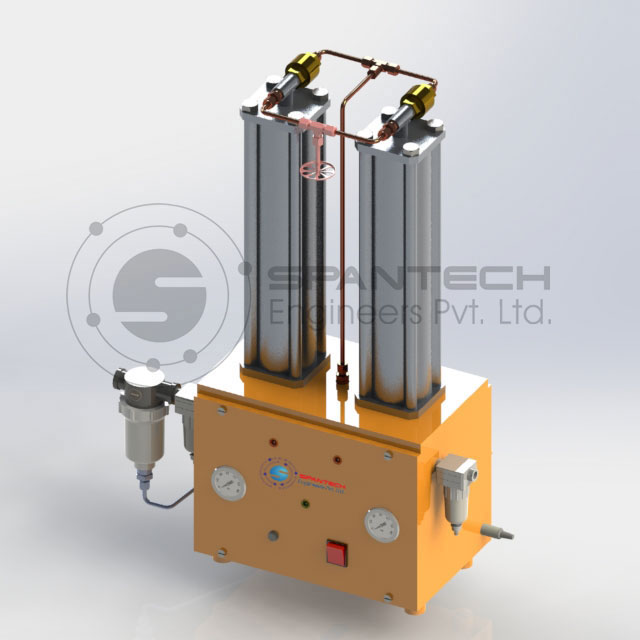 Air Drying Units : Heatless air dryer system